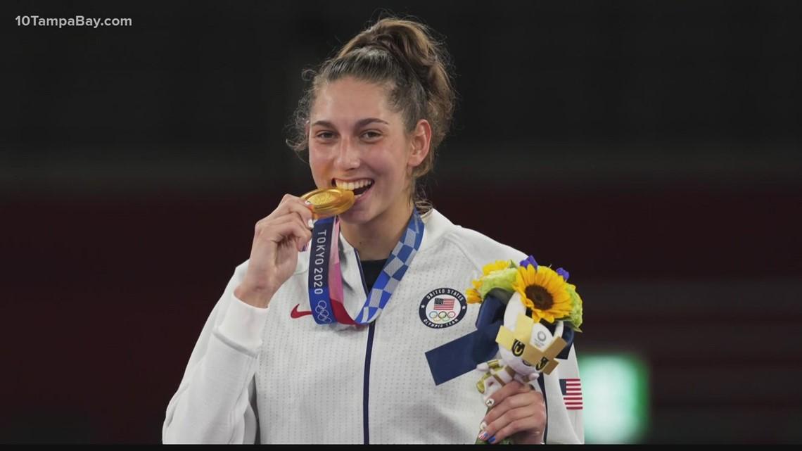 Largo native still thrilled over winning gold in Tokyo