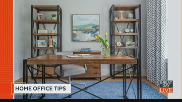 Create a productive home office space