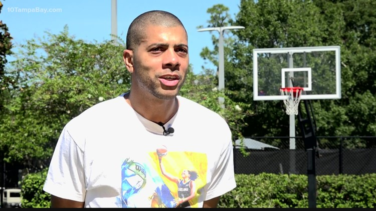 Candace Parker's brother celebrates WNBA championship from Tampa