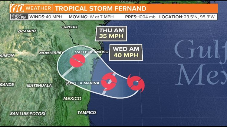 tropical storm fernand 090319