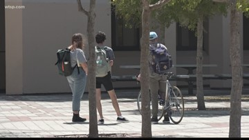 College students having trouble finding food, board