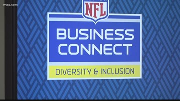 Local business owners get 5 minutes to make their pitch for Super Bowl LV