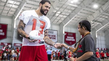 Inspired by Bucs' Mike Evans, child heals from tumors