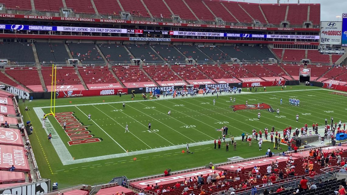 Bucs Fans Thrilled To Be Back In The Stands At Raymond James Stadium Wtsp Com