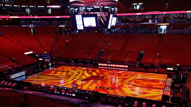 Miami Heat to open vaccinated-only sections for fans on April 1