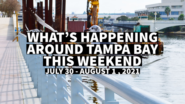 What to do around the Tampa Bay area this weekend