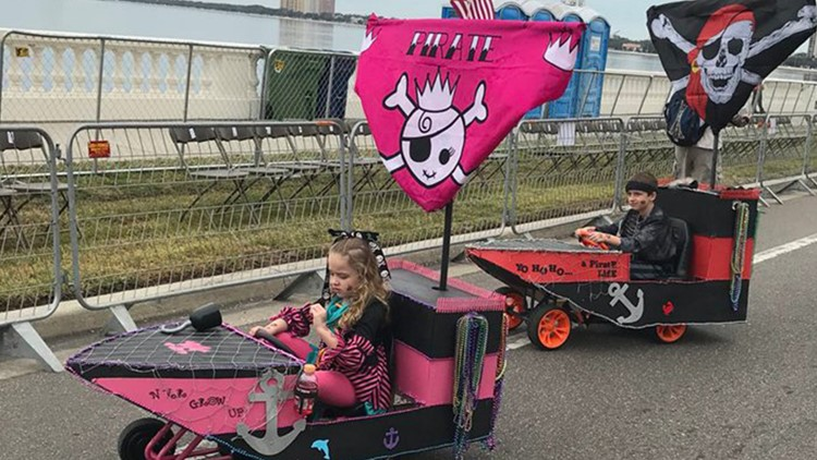 Creativity rules at 2019 Gasparilla Children's Parade