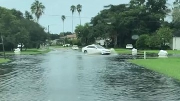 Hillsborough County streets 'turn into rivers' with more flooding expected