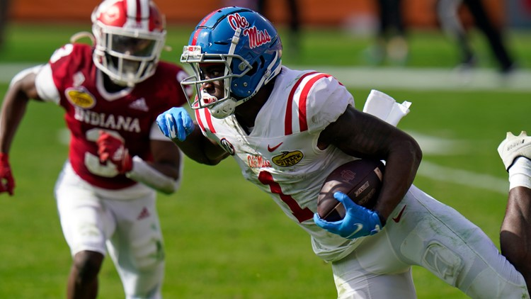 Corral, Ole Miss take down No. 7 Indiana in Outback Bowl