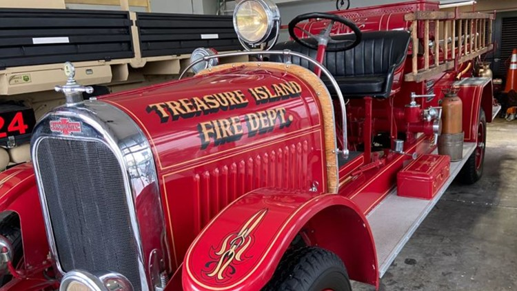Treasure Island fire captain prepares to retire and say goodbye to historic truck he helped restore