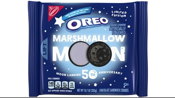 Oreo to release lunar-themed cookies to celebration moon landing's 50th anniversary