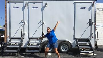 Shower on wheels showers 200+ homeless in 2018