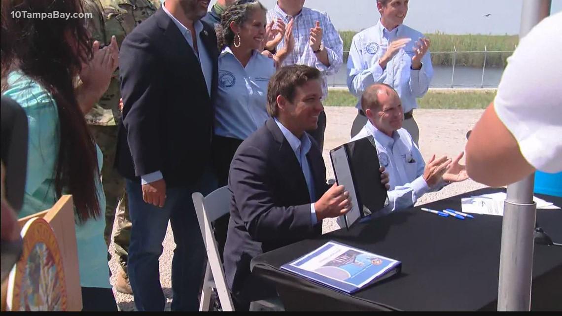 Gov. DeSantis signs agreement that will help lessen the impact of harmful Lake Okeechobee runoff