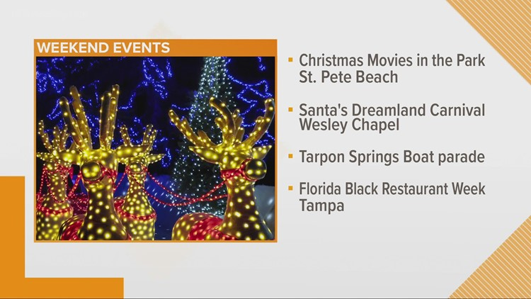 Here's what's going on across Tampa Bay this weekend