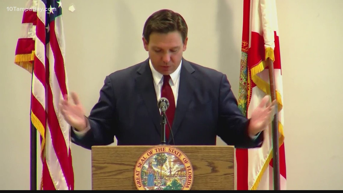 Gov. DeSantis proposes new election restriction measures
