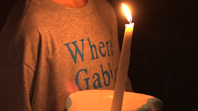 Candlelight vigil held for Gabby Petito in North Port