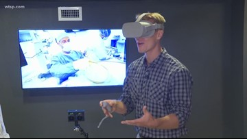 Augmented reality helps train surgeons in Tampa