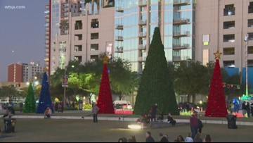Tampa Christmas tree lighting delayed