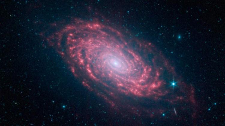 Spitzer's Sunflower Galaxy nasa