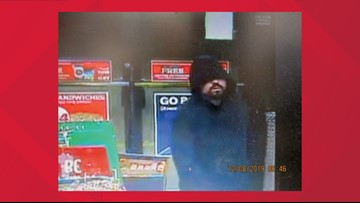 Deputies say this guy tried to rob a gas station. They want your help finding him.