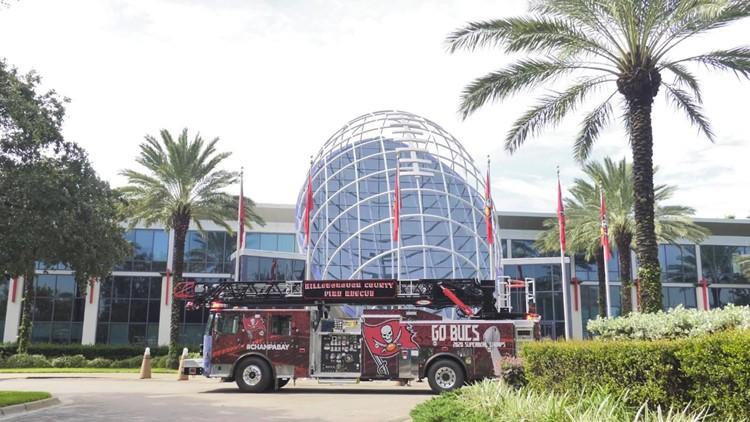 Hillsborough Fire Rescue unveils new truck celebrating 'Champa Bay'