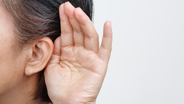 Ear condition makes woman unable to hear men's voices