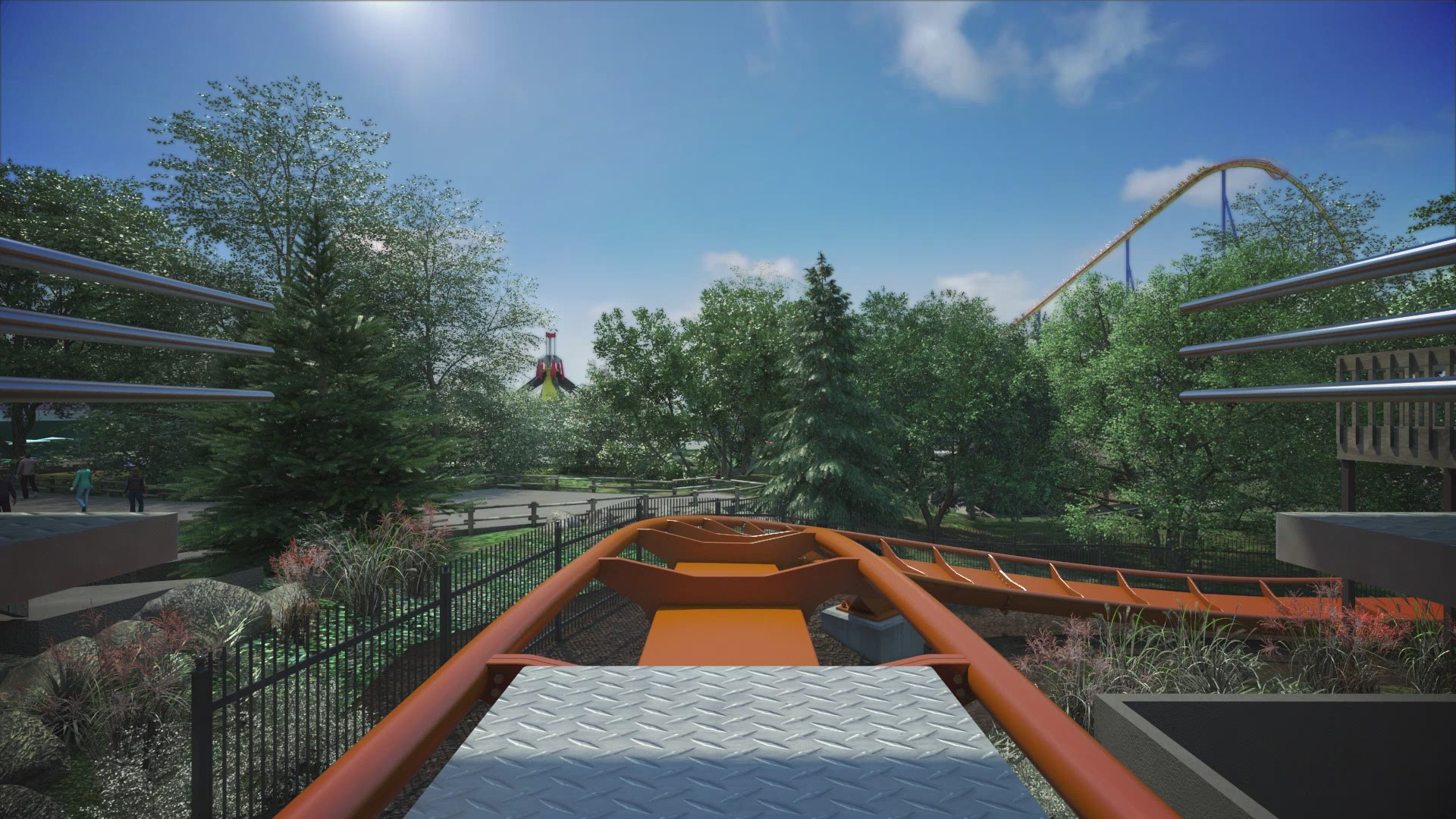 What It S Like To Ride Yukon Striker Roller Coaster At Canada S