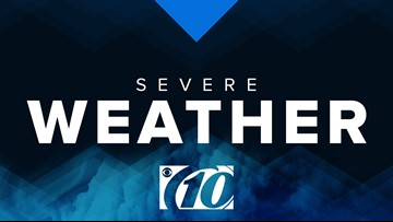 Severe thunderstorm warning issued for Highlands County