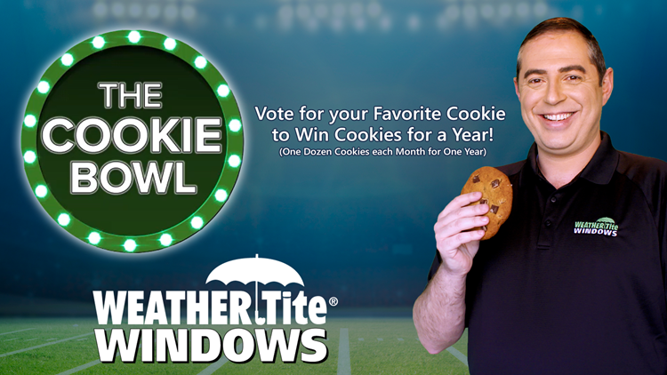 Win Cookies for A Year from Weather Tite Windows!