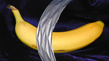 Charges dropped against  artist accused of vandalizing duct-taped banana piece