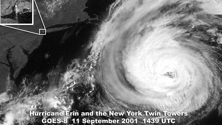 nyc hurricane erin 2001
