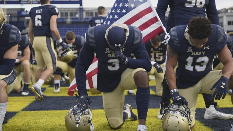 Living the 'dreams': The Navy and the NFL