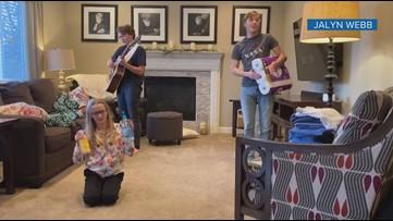 Colorado siblings use pandemic supplies to create original music