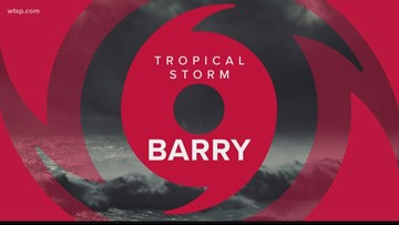 Tropical Storm Barry expected to bring heavy rainfall, possible flooding to Louisiana