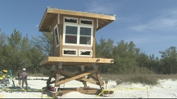 Manatee County beaches are about to get safer with new lifeguard towers