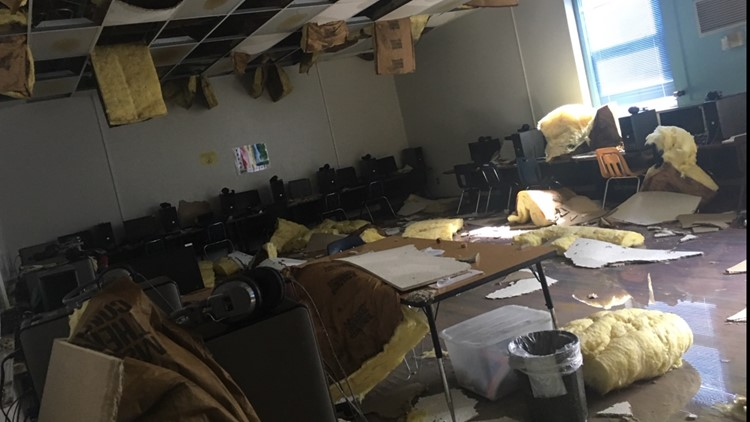 'The walls started heaving in and out': Custodian describes being inside school hit by tornado