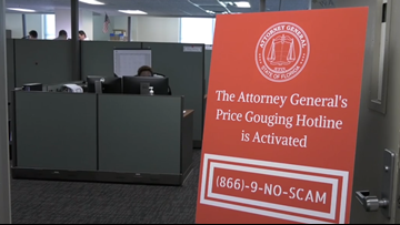 Hundreds of price gouging reports came into Tampa Bay counties during Hurricane Dorian