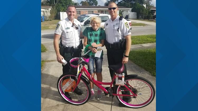 Holiday spirit: Deputies, Walmart replace woman's stolen bike