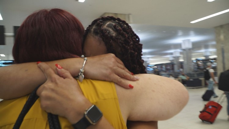 Sisters reunite in Tampa after spending a half-century apart