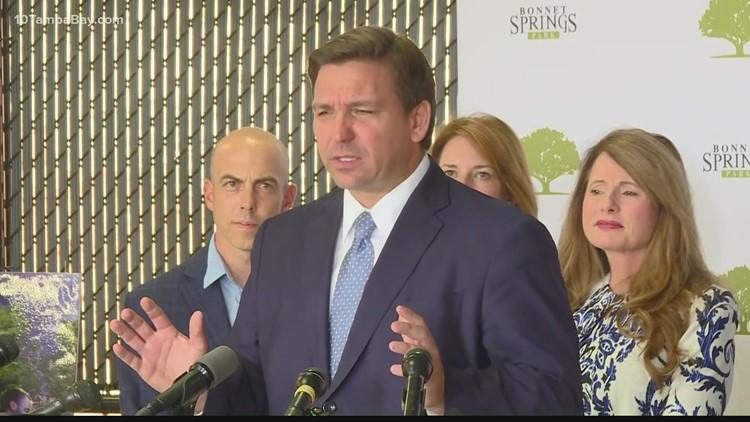Gov. DeSantis announces $49.2 million for Lakeland infrastructure project