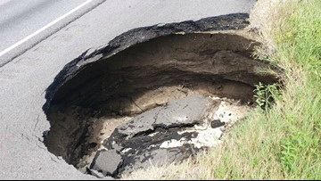 I-75 in Florida reopens after large hole forced traffic to be diverted