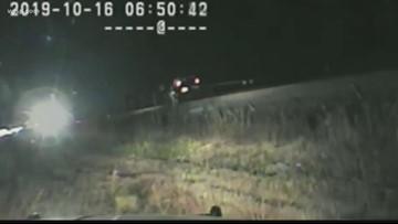 Utah troopers saves man from train