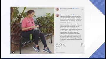 Tampa fitness influencer uses social media to whip others into shape