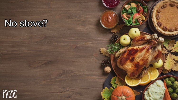 Tips from a chef: How to make a Thanksgiving meal using a slow cooker and a microwave