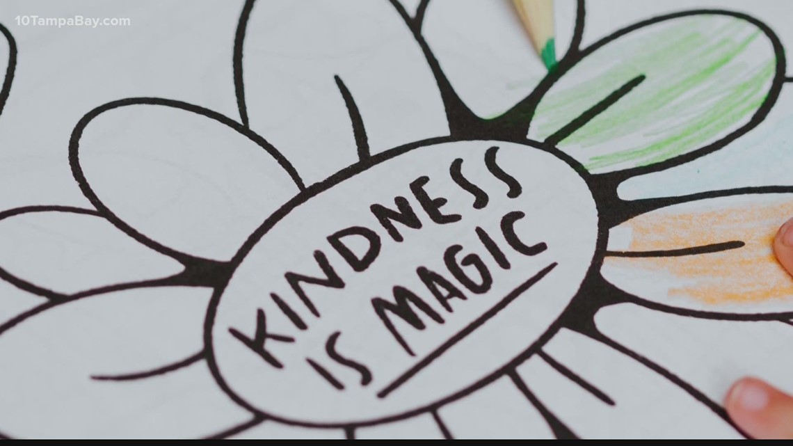 Tampa friends suffering pandemic woes create mental health coloring book