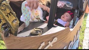 Kiddie buccaneers take over Bayshore during Gasparilla Children's Parade