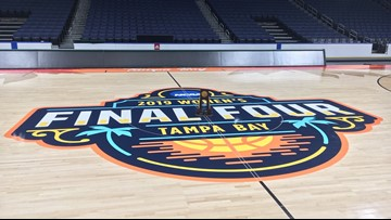 Women's Final Four is set: Amalie Arena to host games Friday