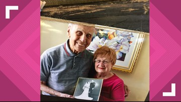 Married couple of 75 years renews vows, shares their secrets to longevity