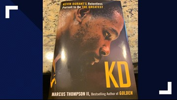 New Kevin Durant biography set for Tuesday release