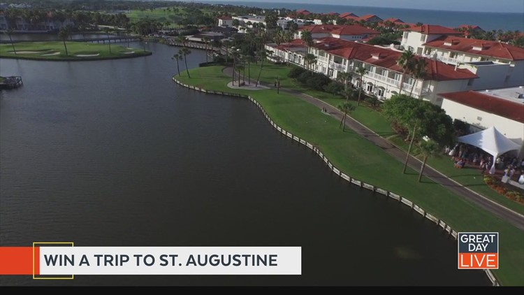 Great Day Live wants to send you to St. Augustine!